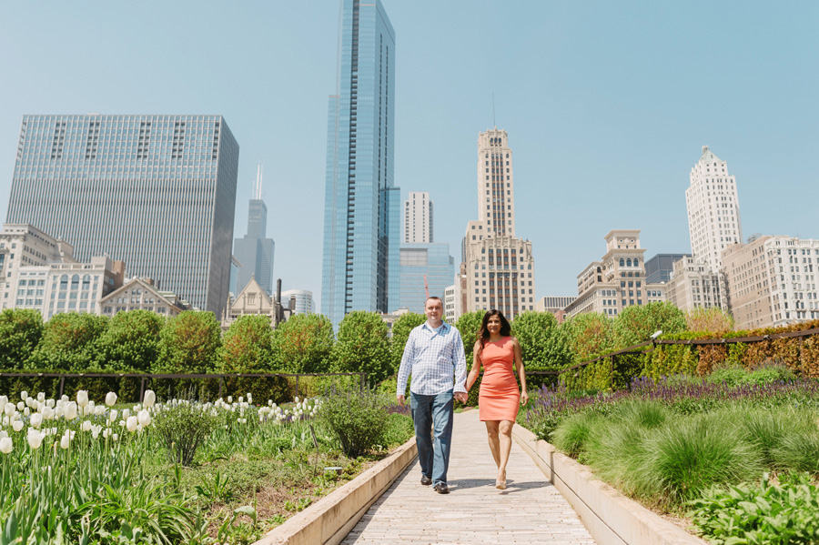 Chicago Multi Cultural Wedding Engagement by Two Birds Photography 10