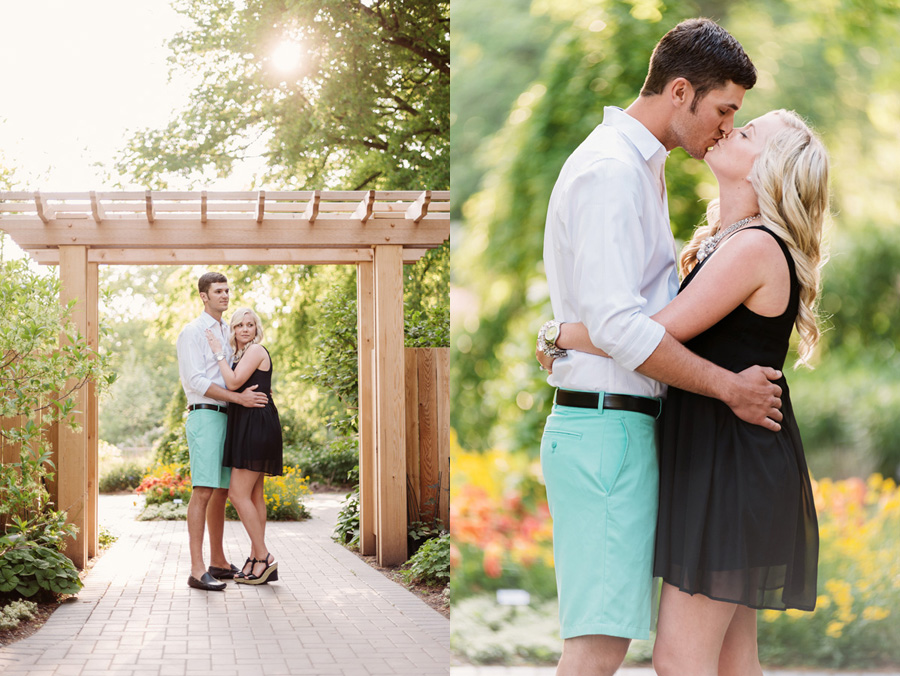 Chicago Illinois Engagement Session at Morton Arboretum by Two Birds Photography 02
