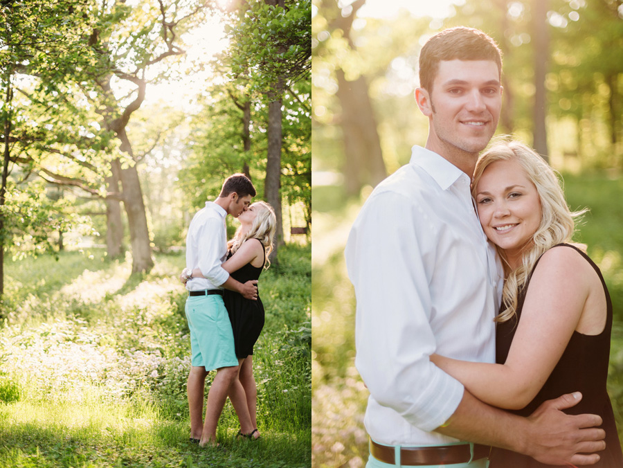 Chicago Illinois Engagement Session at Morton Arboretum by Two Birds Photography 03
