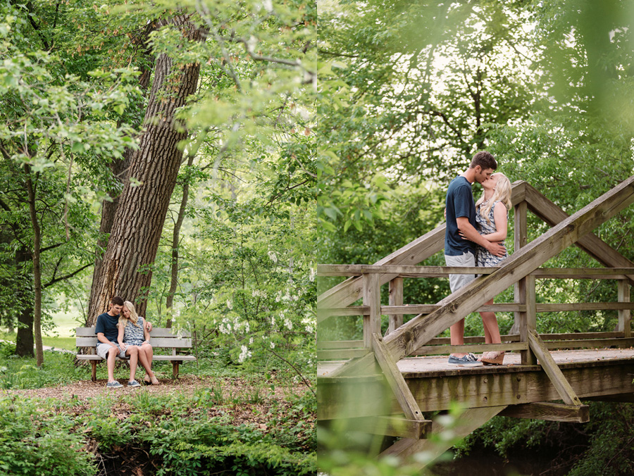 Chicago Illinois Engagement Session at Morton Arboretum by Two Birds Photography 09