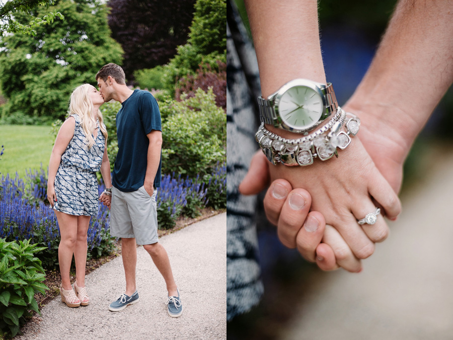 Chicago Illinois Engagement Session at Morton Arboretum by Two Birds Photography 10