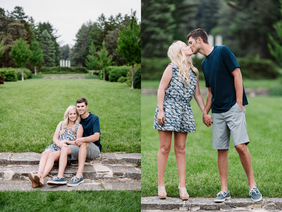 Chicago Illinois Engagement Session at Morton Arboretum by Two Birds Photography 11