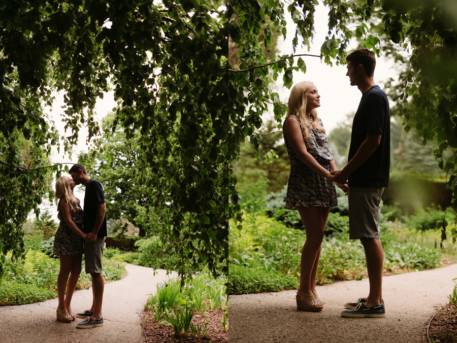 Chicago Illinois Engagement Session at Morton Arboretum by Two Birds Photography 12