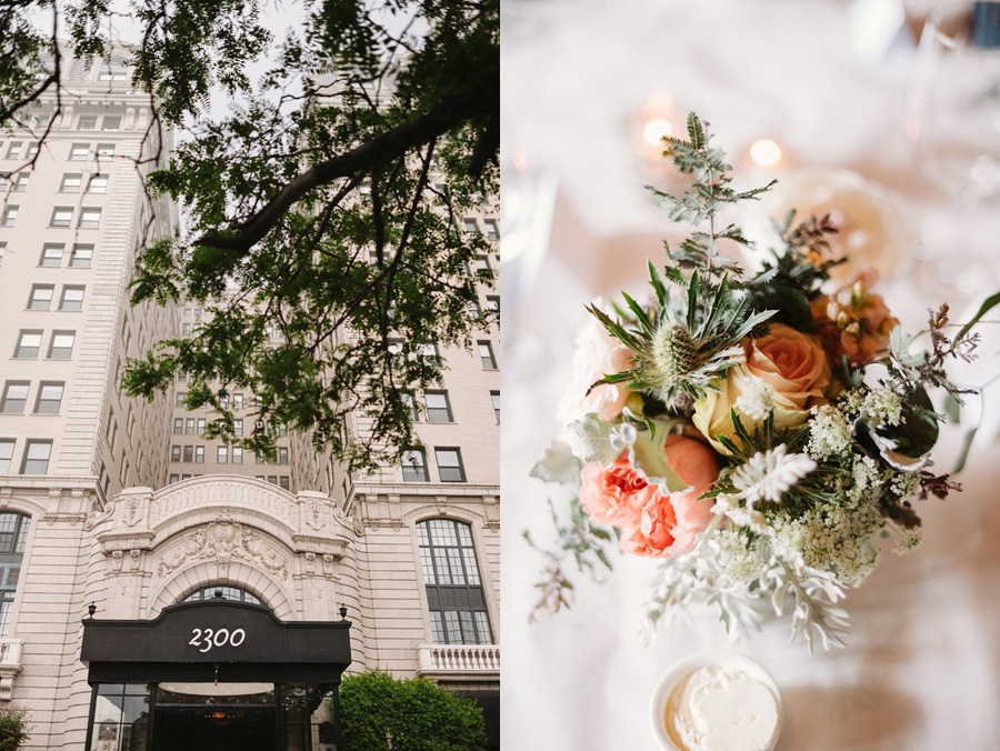 Chicago Wedding at Mon Ami Gabi by Two Birds Photography 09