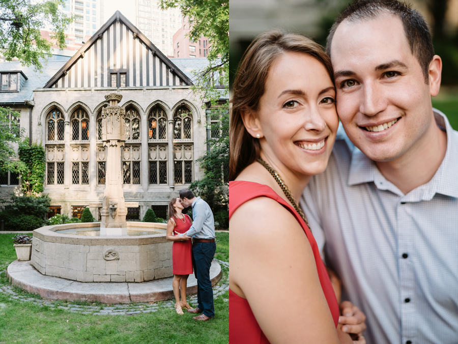University of Chicago Engagement Session with Ghiradelli Ice Cream and Trip to the Beach by Two Birds Photography001