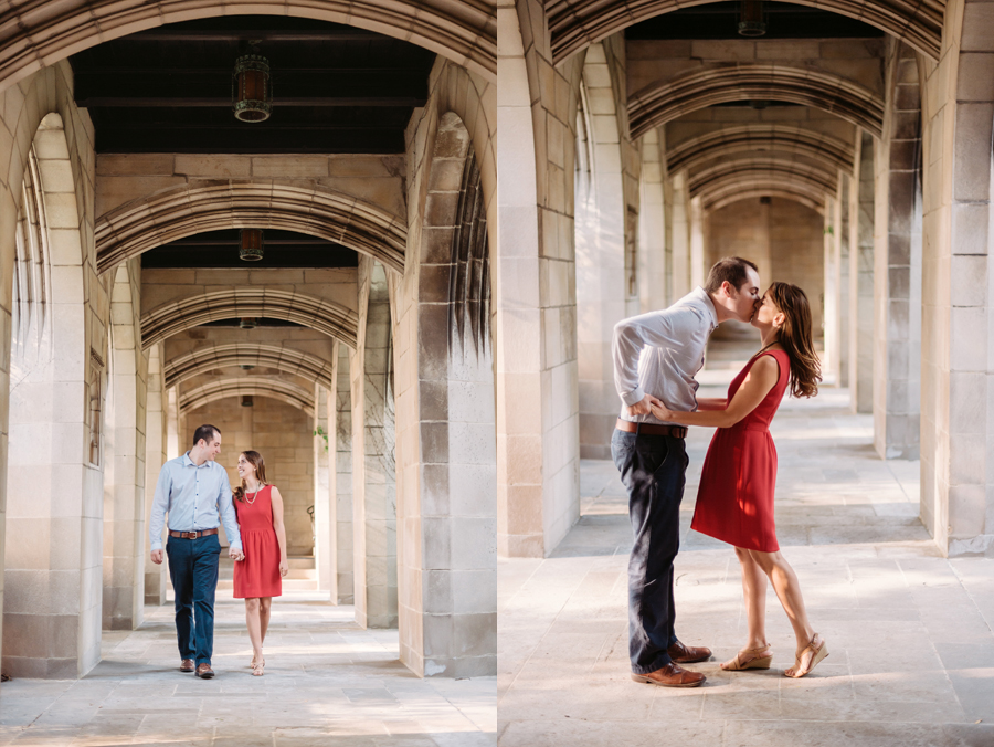 University of Chicago Engagement Session with Ghiradelli Ice Cream and Trip to the Beach by Two Birds Photography002