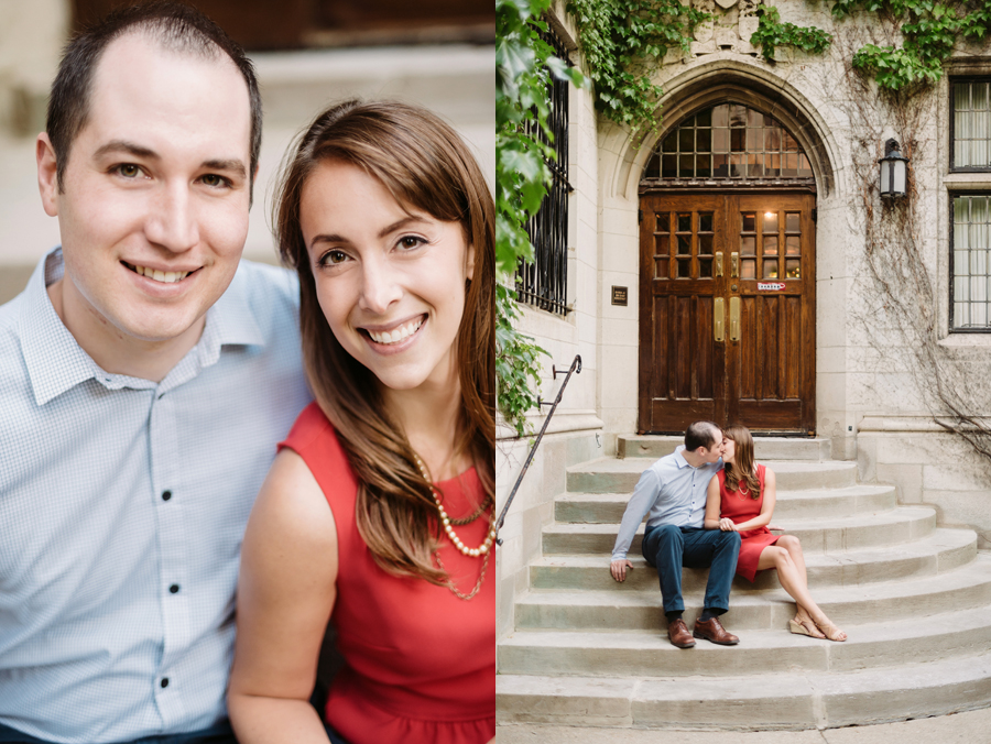 University of Chicago Engagement Session with Ghiradelli Ice Cream and Trip to the Beach by Two Birds Photography003