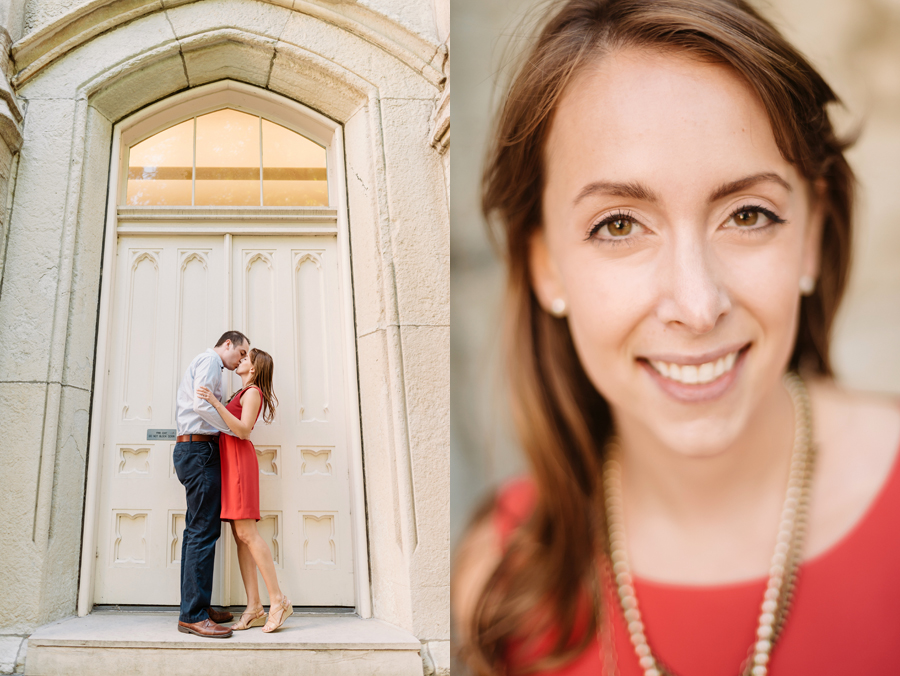 University of Chicago Engagement Session with Ghiradelli Ice Cream and Trip to the Beach by Two Birds Photography004