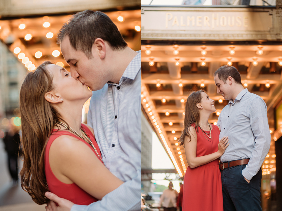 University of Chicago Engagement Session with Ghiradelli Ice Cream and Trip to the Beach by Two Birds Photography009