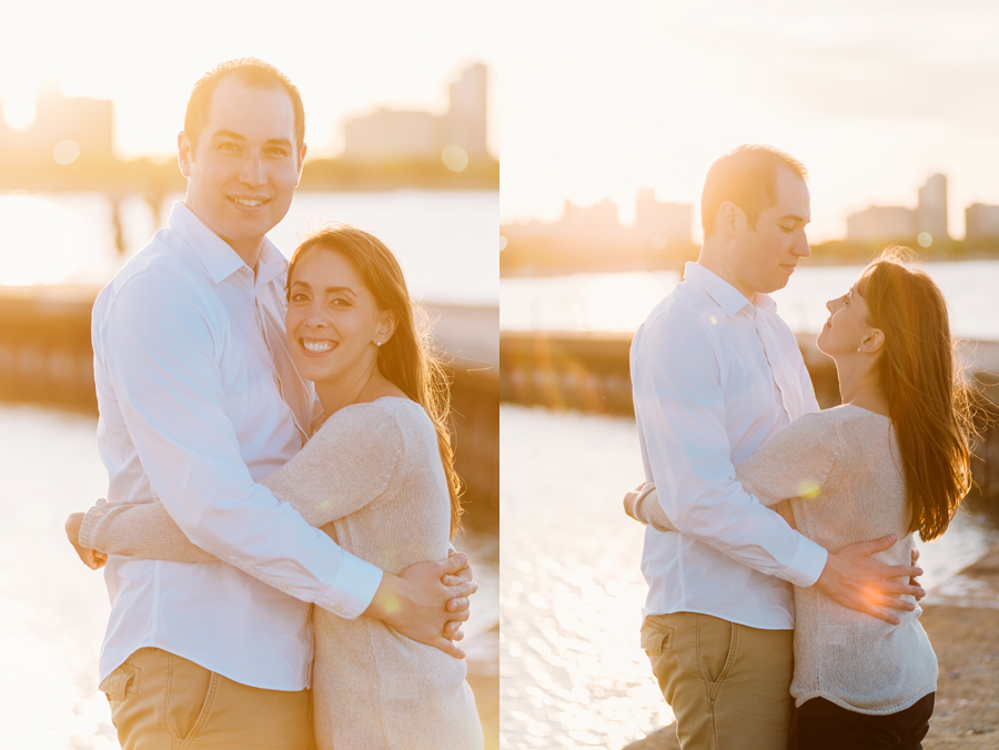 University of Chicago Engagement Session with Ghiradelli Ice Cream and Trip to the Beach by Two Birds Photography014