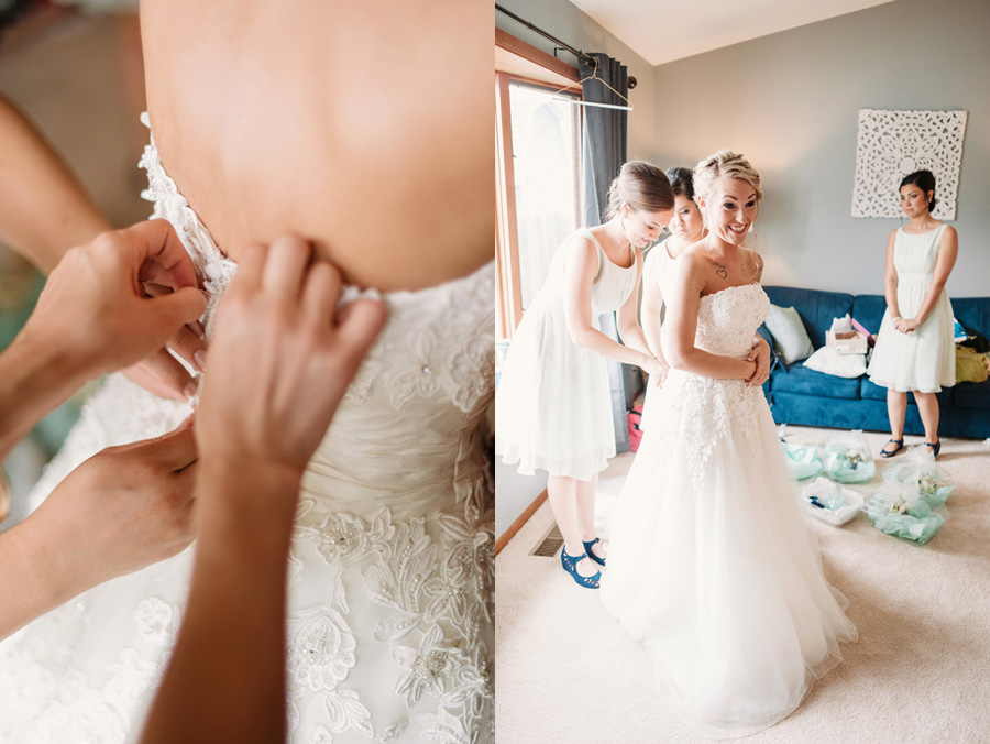 Blue and Gold Illinois Wedding at the Thunderhead Golf Club by Two Birds Photography 04