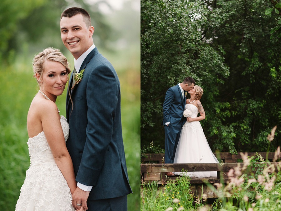 Blue and Gold Illinois Wedding at the Thunderhead Golf Club by Two Birds Photography 16