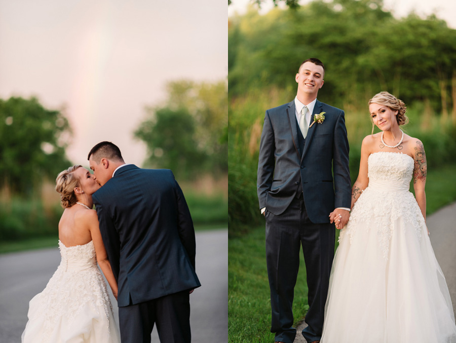 Blue and Gold Illinois Wedding at the Thunderhead Golf Club by Two Birds Photography 22