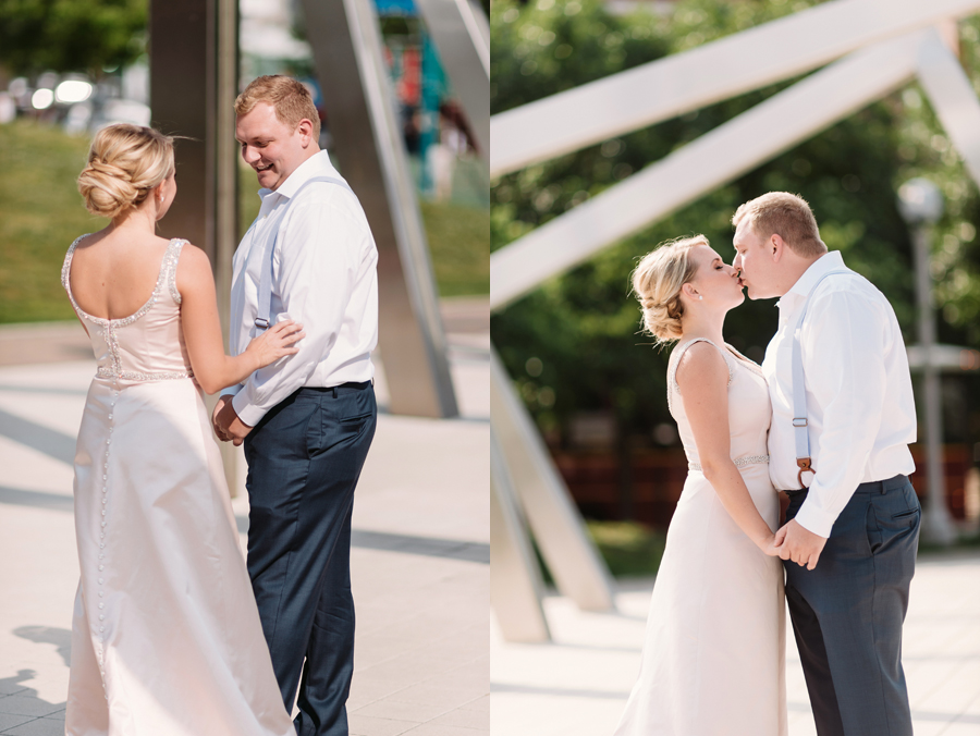 Chicago Navy Pier Rooftop Lemon Themed Wedding by Two Birds Photography 06