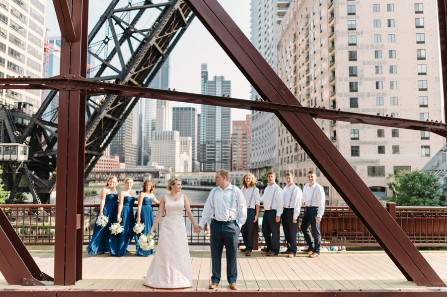 Chicago Navy Pier Rooftop Lemon Themed Wedding by Two Birds Photography 07