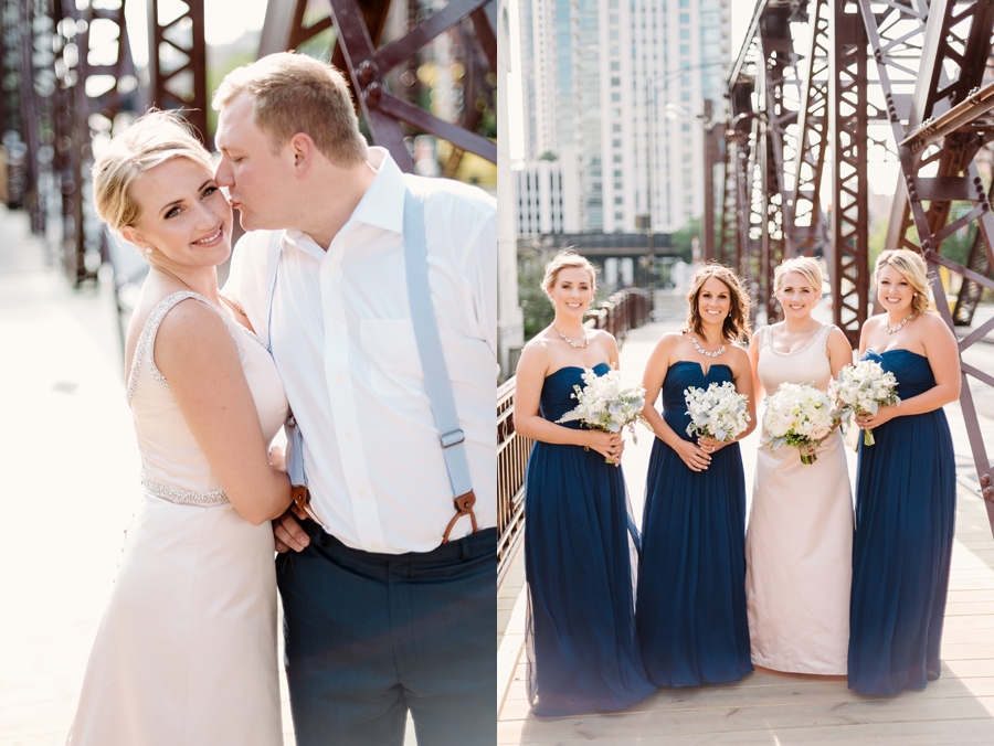 Chicago Navy Pier Rooftop Lemon Themed Wedding by Two Birds Photography 08