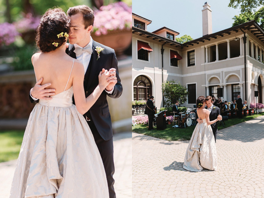 Intimate Lake Forest Illinois Brunch Wedding by Two Birds Photography 31