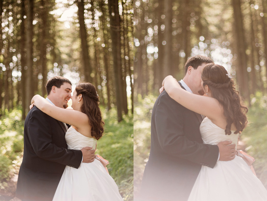 Sweet Pink Wedding at the Morton Arboretum by Two Birds Photography10