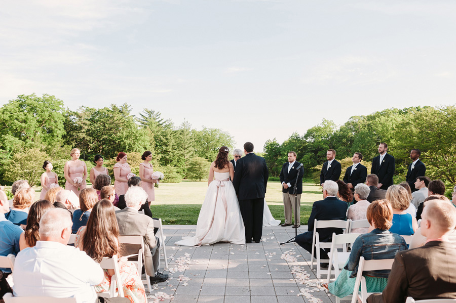 Sweet Pink Wedding at the Morton Arboretum by Two Birds Photography19