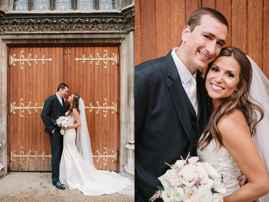 Rainy Chicago Wedding with Reception at McDonald's Corporation by Two Birds Photography14
