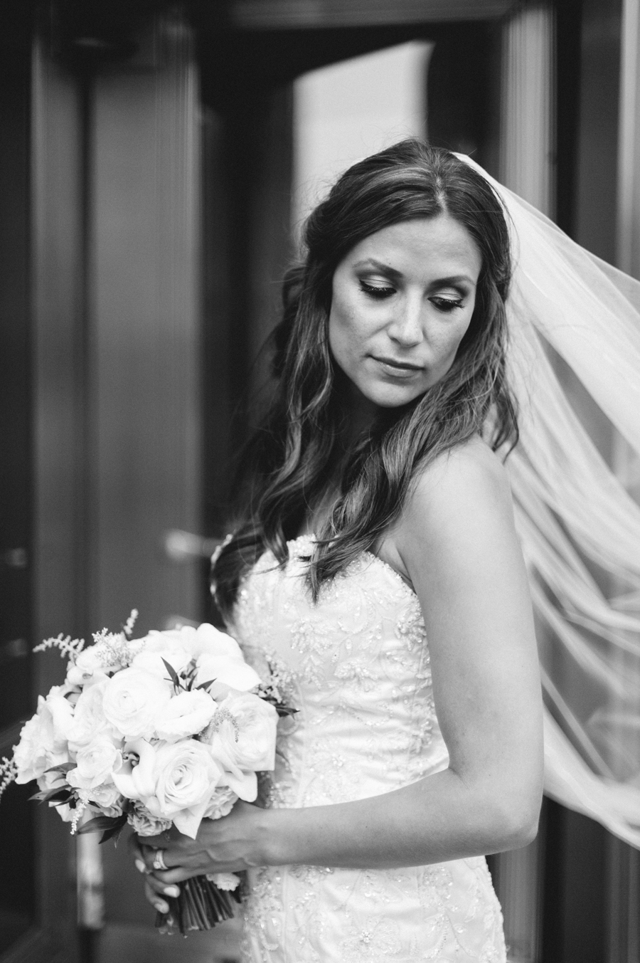Rainy Chicago Wedding with Reception at McDonald's Corporation by Two Birds Photography22
