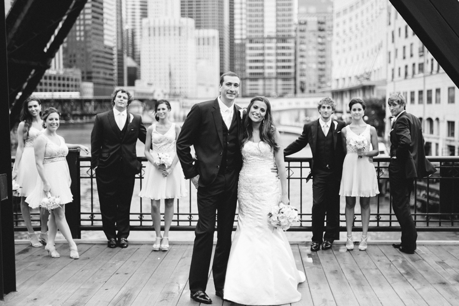 Rainy Chicago Wedding with Reception at McDonald's Corporation by Two Birds Photography26