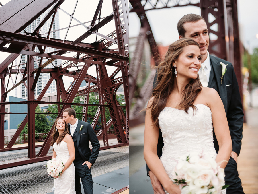 Rainy Chicago Wedding with Reception at McDonald's Corporation by Two Birds Photography27