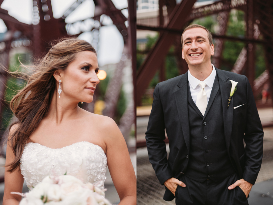 Rainy Chicago Wedding with Reception at McDonald's Corporation by Two Birds Photography29