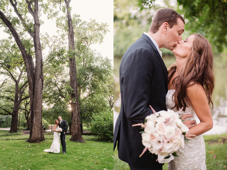 Rainy Chicago Wedding with Reception at McDonald's Corporation by Two Birds Photography30