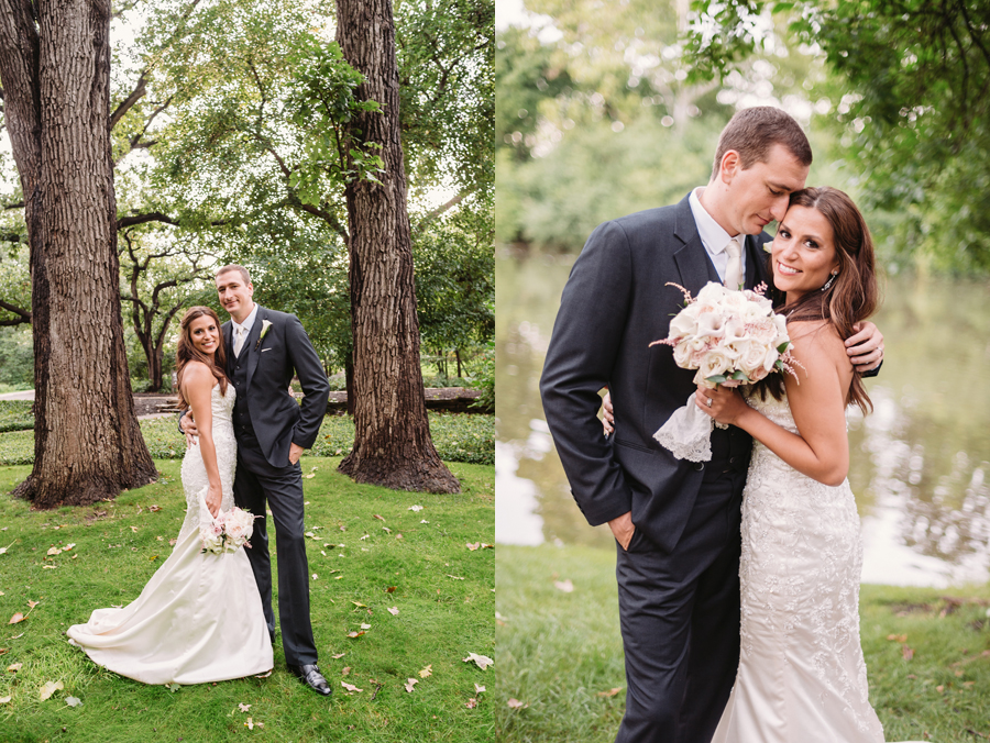 Rainy Chicago Wedding with Reception at McDonald's Corporation by Two Birds Photography31