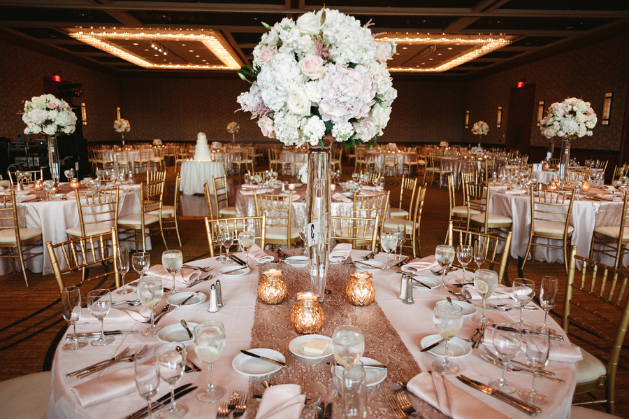 Rainy Chicago Wedding with Reception at McDonald's Corporation by Two Birds Photography33