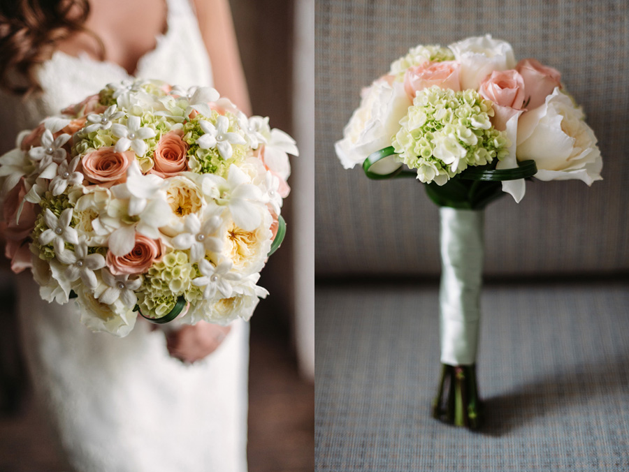 Peach Gray and Cream Western Suburbs Wedding at Oak Brook Hyatt by Two Birds Photography 05