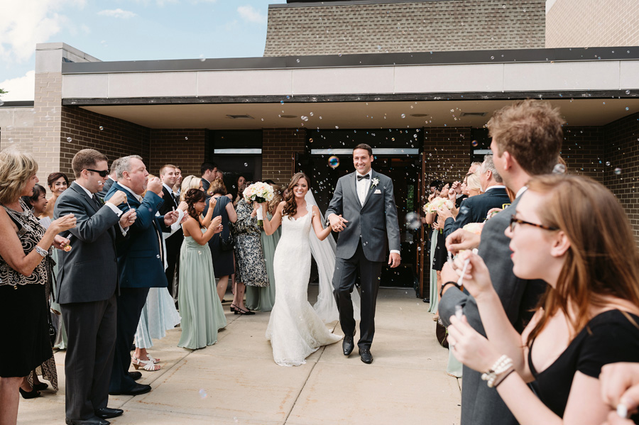 Peach Gray and Cream Western Suburbs Wedding at Oak Brook Hyatt by Two Birds Photography 13