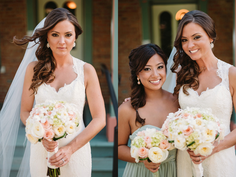 Peach Gray and Cream Western Suburbs Wedding at Oak Brook Hyatt by Two Birds Photography 14