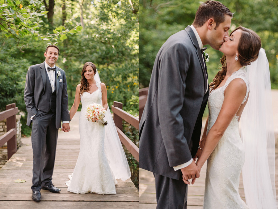 Peach Gray and Cream Western Suburbs Wedding at Oak Brook Hyatt by Two Birds Photography 20