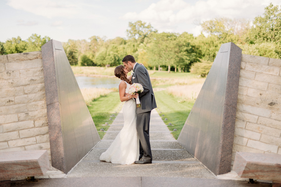 Peach Gray and Cream Western Suburbs Wedding at Oak Brook Hyatt by Two Birds Photography 21