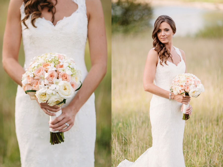 Peach Gray and Cream Western Suburbs Wedding at Oak Brook Hyatt by Two Birds Photography 22