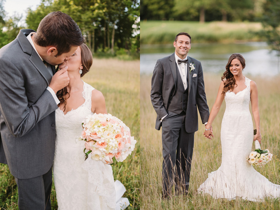Peach Gray and Cream Western Suburbs Wedding at Oak Brook Hyatt by Two Birds Photography 23