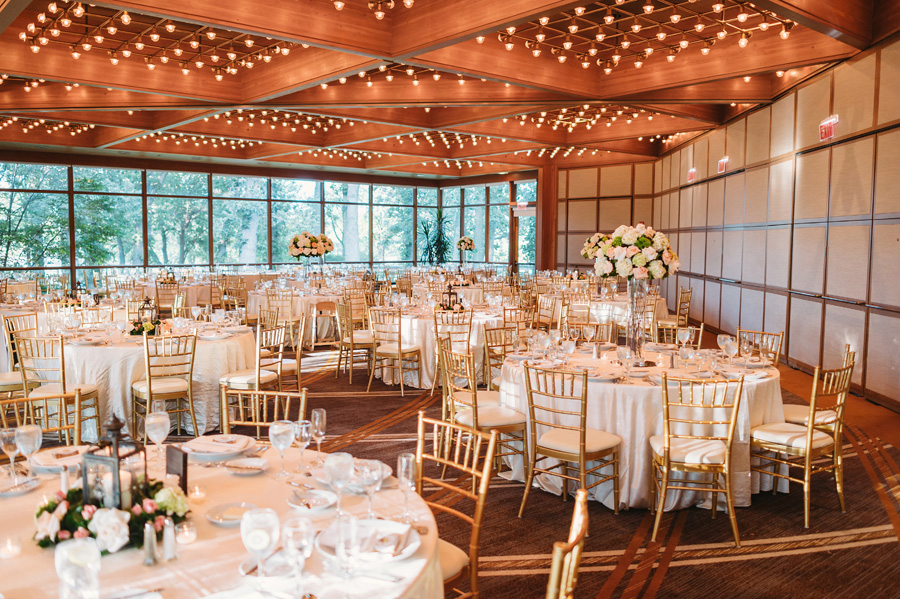 Peach Gray and Cream Western Suburbs Wedding at Oak Brook Hyatt by Two Birds Photography 28