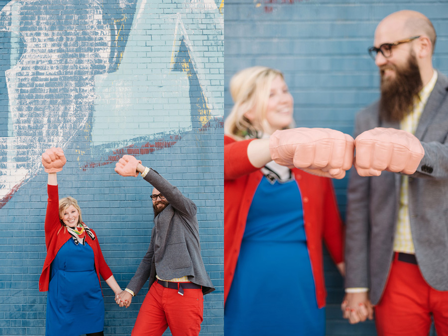 Chicago Logan Square Engagement Session Margie's Ice Cream Graffiti Lot by Two Birds Photography07