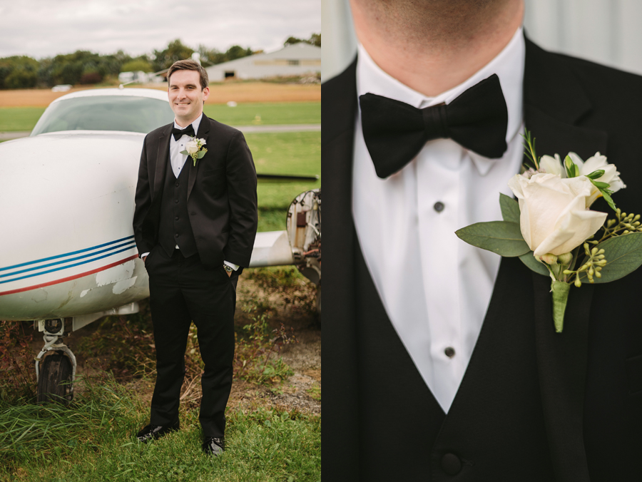 Two Birds Photography Autumn Illinois Wedding at Blumen Gardens15