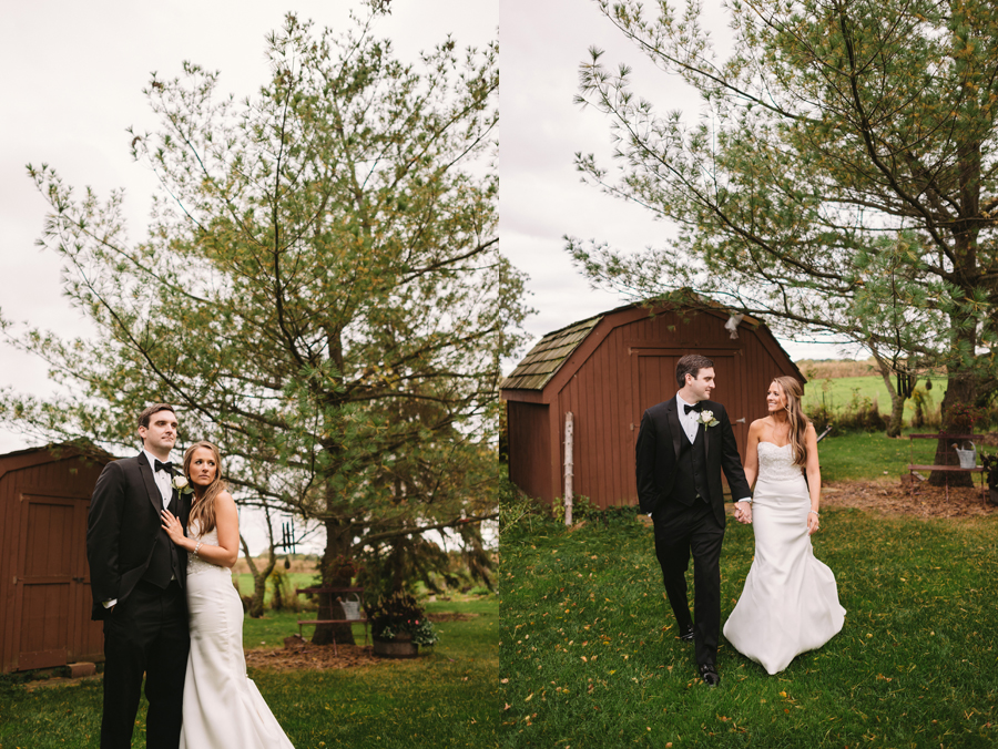 Two Birds Photography Autumn Illinois Wedding at Blumen Gardens21