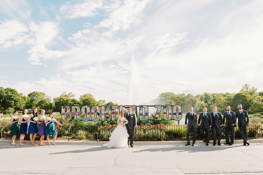 Brookfield Zoo Wedding by Two Birds Photography10