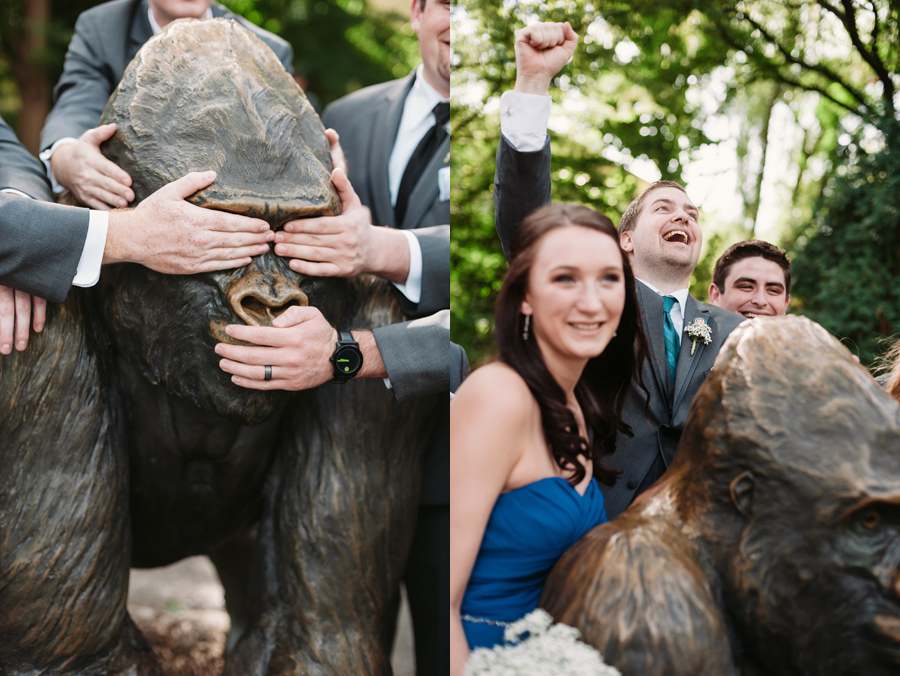 Brookfield Zoo Wedding by Two Birds Photography11