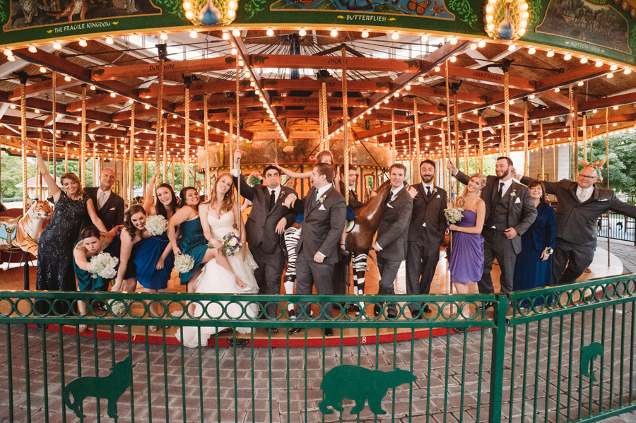 Brookfield Zoo Wedding by Two Birds Photography35