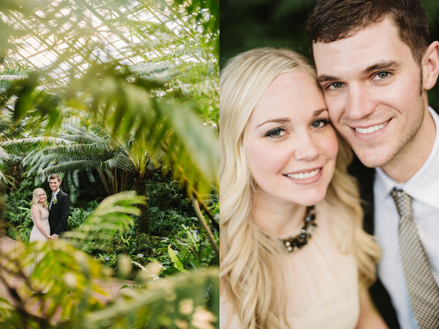 Chicago Lincoln Park Conservatory Elopement by Two Birds Photography006