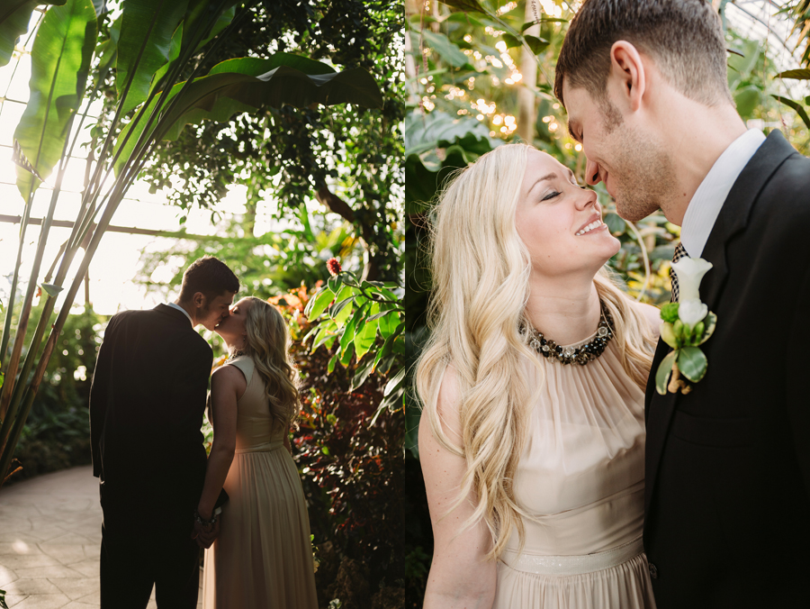 Chicago Lincoln Park Conservatory Elopement by Two Birds Photography007