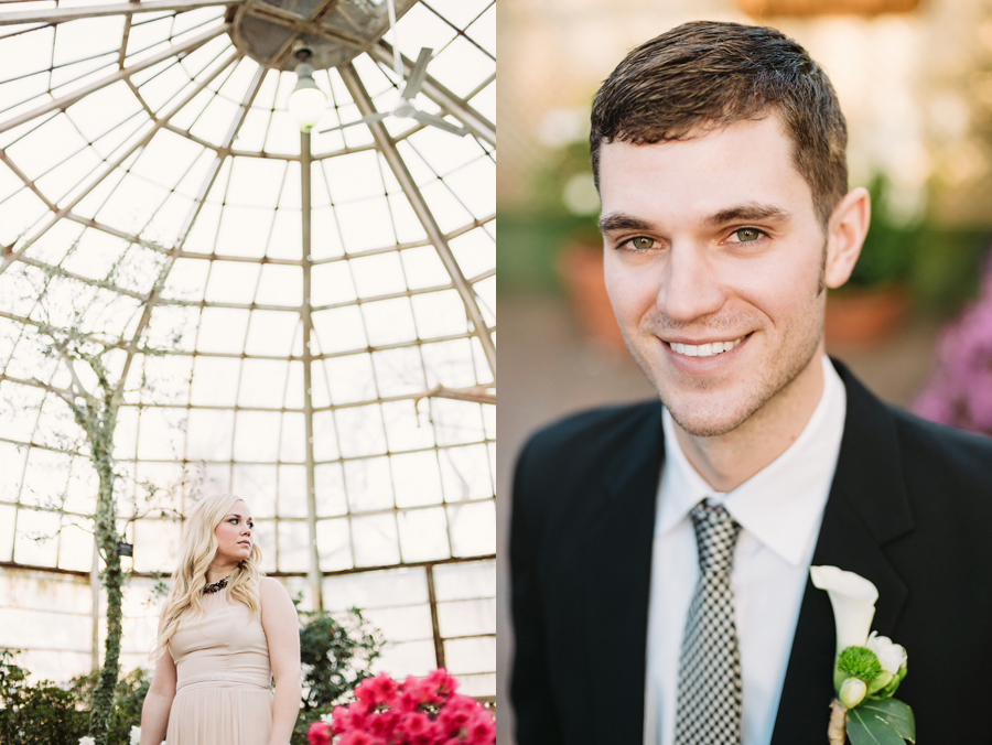 Chicago Lincoln Park Conservatory Elopement by Two Birds Photography008
