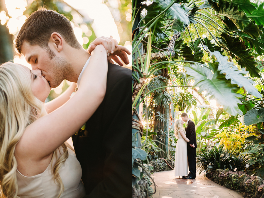 Chicago Lincoln Park Conservatory Elopement by Two Birds Photography009