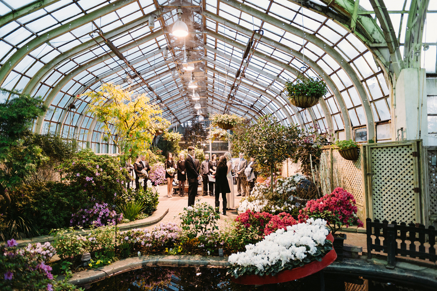 Chicago Lincoln Park Conservatory Elopement by Two Birds Photography011